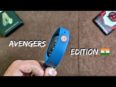 Mi Band 4 Avengers Edition || Indian Variant ||