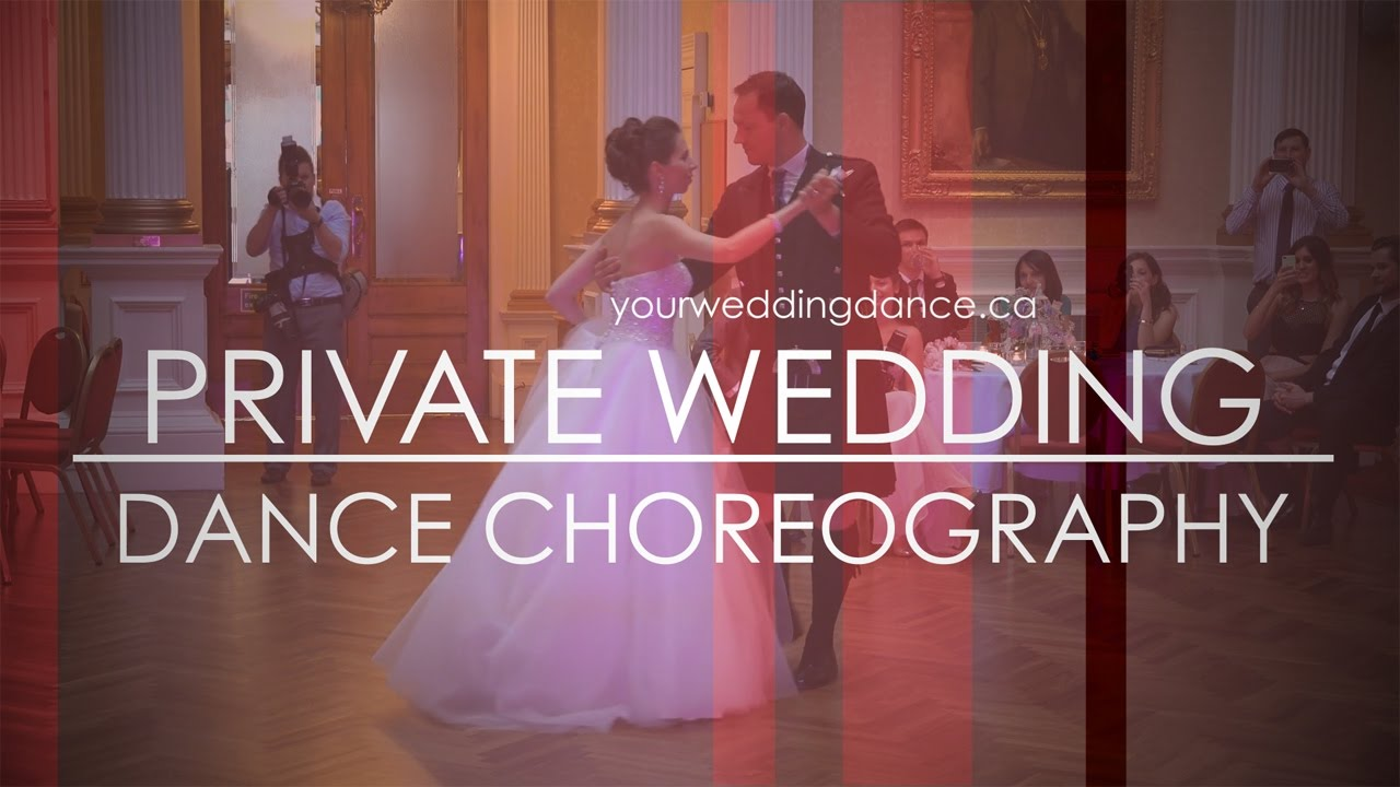 Wedding Dance Choreography And First