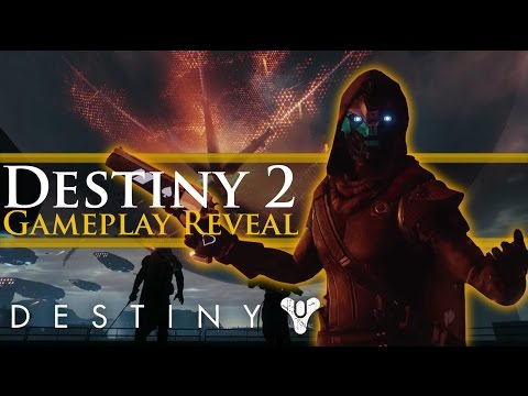 Destiny 2 Gameplay Trailer Exclusive First Look!