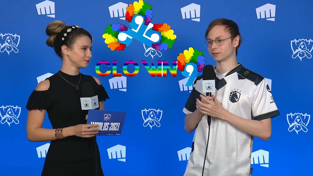 """Download Based Laure Calls C9 """"Clown 9"""" During TL Jensen's Post Game Interview!!"""