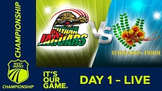 Guyana v Barbados - Day 1 | West Indies Championship | Friday 4th January 2019