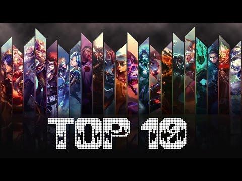 TOP 10 SKIN (SEGUN CRYO Y TRYRAX)