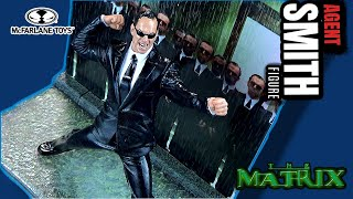 McFarlane Toys The Matrix Series 2 Agent Smith Figure | Video Review