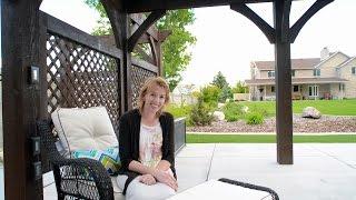Timber Pergola Testimonial - Debbie Wright - South Jordan, Utah | Poolside Cantilevered Roof