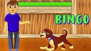 El Perro BINGO. Canciones de la Granja. Super Divertido. Videos para Niños