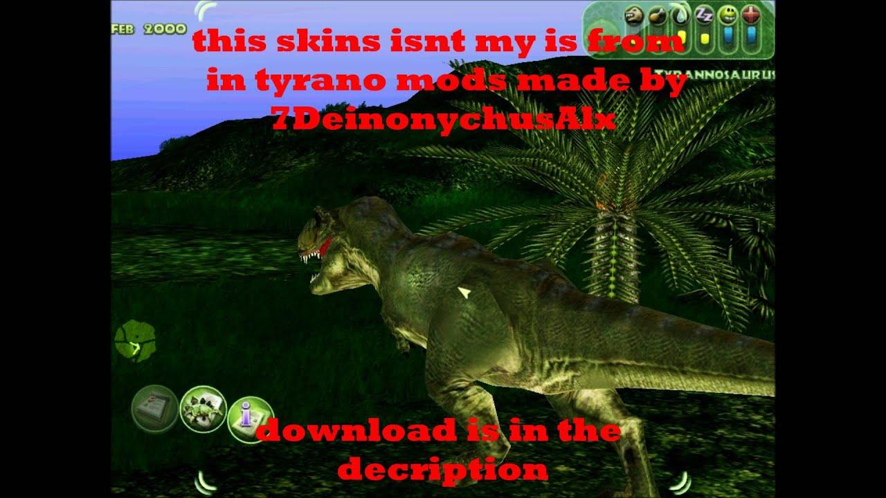 Jpog T Rex Skin Download Youtube