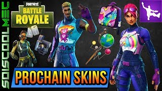 THE PROCHAIN SKINS OF FORTNITE BATTLE ROYAL! SAC A DOS LICORNE! FLUO TERROR! NEWS!