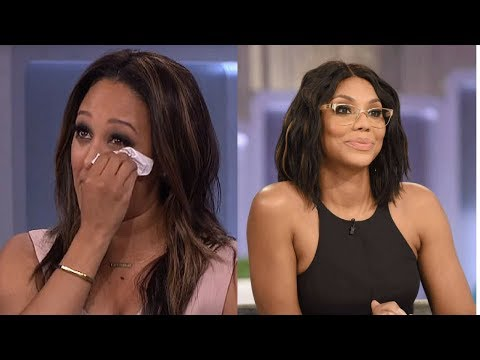 Tamera Mowry gets SAD about TAMAR BRAXTON during Girl Chat   NEW 2018!!!