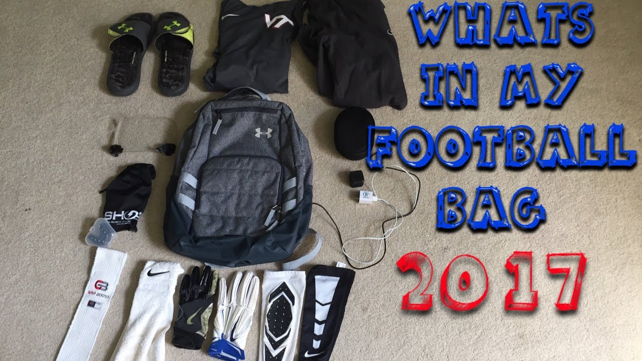 Whats In My Football Bag 2017