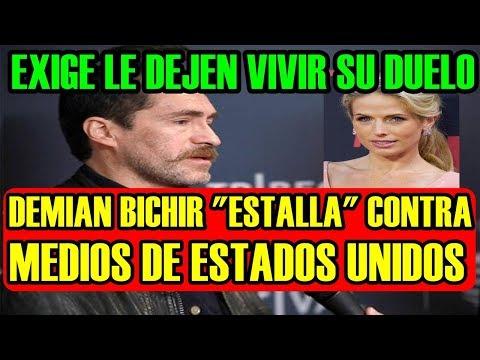 """DEMIAN BICHIR """"ESTALLA"""" contra MEDIOS de ESTADOS UNIDOS pide LE DEJEN VIVIR SU DUELO"""