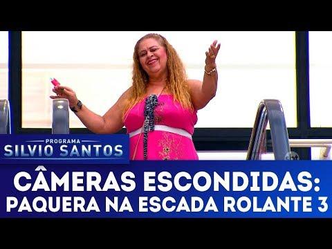 Paquera na Escada Rolante 3 - Love Escalator Prank 3   Câmeras Escondidas (07/01/18)