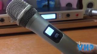 Giới thiệu và hướng dẫn sử dụng micro Shure S007