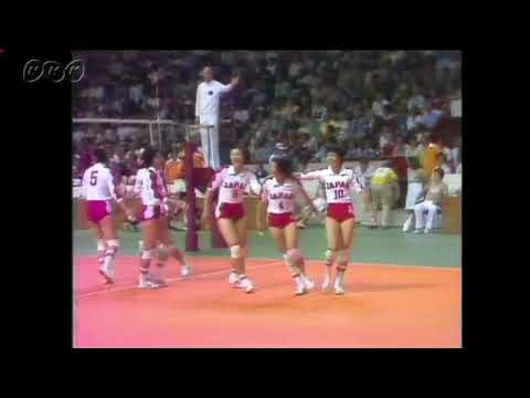 1976 Montreal Olympic【女子バレー決勝 : 日本xソ連】women's volleyball Final