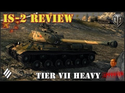 WoT: IS-2 Chinese Tier VII Heavy Tank Review!