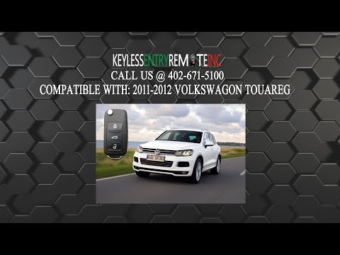 How To Replace Volkswagon Touareg Key Fob Battery 2011 2012