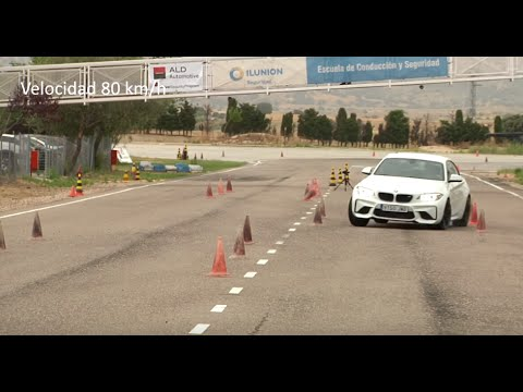 Bmw M2 Coupe 2016 Maniobra De Esquiva Moose Test Y Eslalon Km77