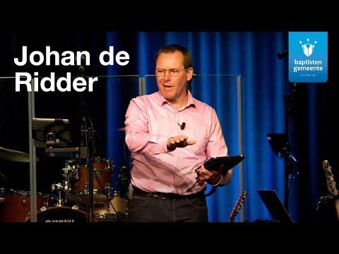 09-05 - Johan de Ridder | Eredienst