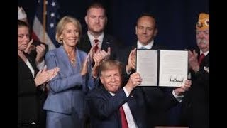 H.A. Goodman Trump Signs Executive Order Cancelling Student Loan Debt for Disabled Veterans