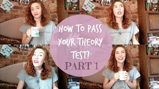 HOW TO PASS YOUR THEORY TEST || Tea with Soph - Episode 2