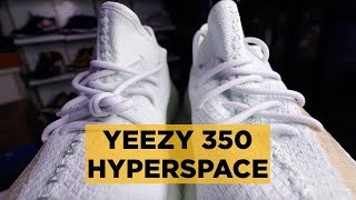 YEEZY 350 BOOST V2 HYPERSPACE EARLY UNBOXING!