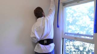 how to fix a corner plaster wall crack