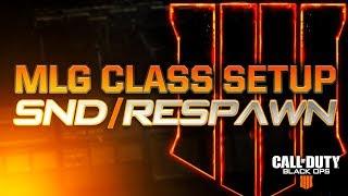 Black Ops 4: MLG CLASS SETUP (SnD/Respawn)