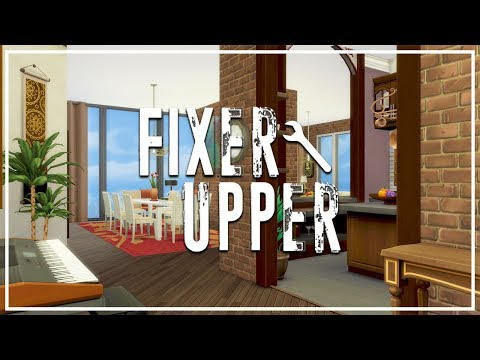 ABANDONED APARTMENT // The Sims 4: Fixer Upper - Home Renovation