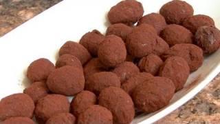 Decadent Chocolate Grape Truffles