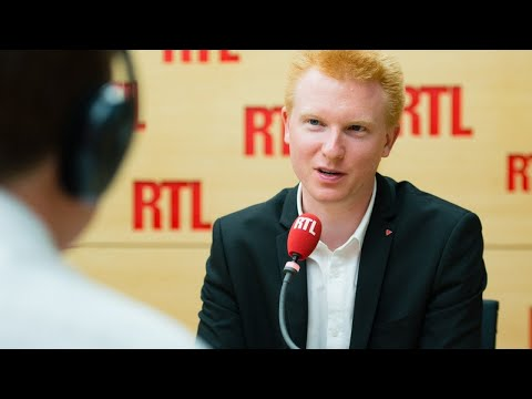 Adrien Quatennens était l'invité de RTL le 1er août 2017