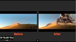 『実写と特撮の見比べ』| https://www.youtube.com/watch?v=8B5mPm2pwc...