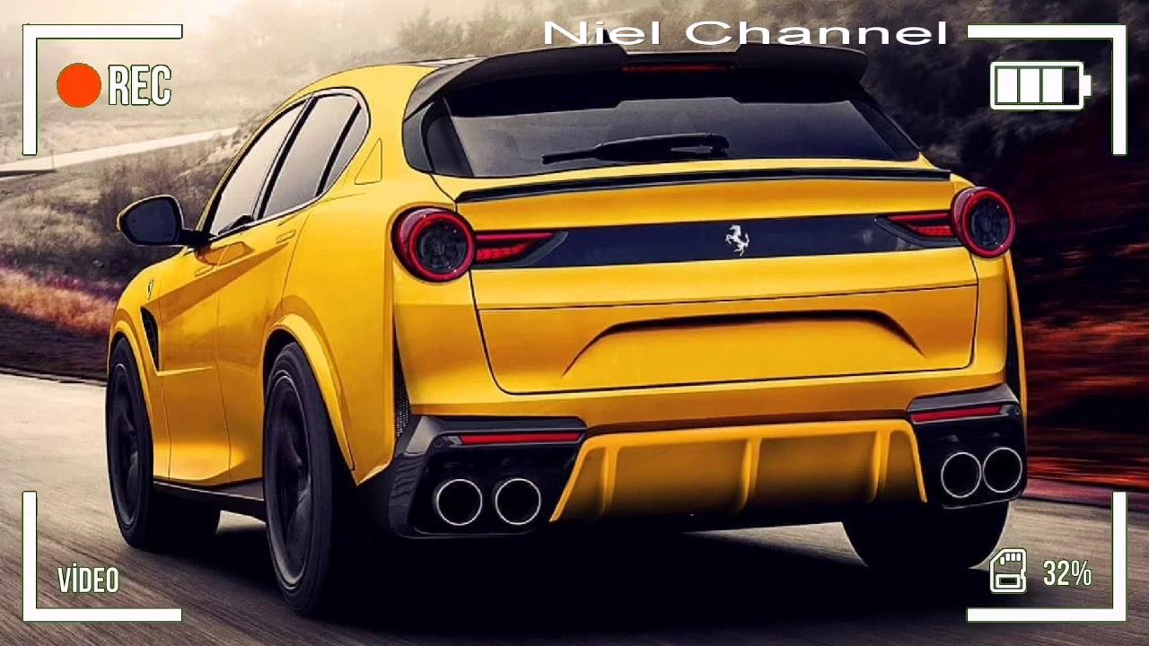 2021 Ferrari Purosangue Suv Youtube