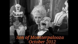 Judith Roberts star of Dead Silence representing Nightmare Puppets @ Son of Monsterpalooza 2012