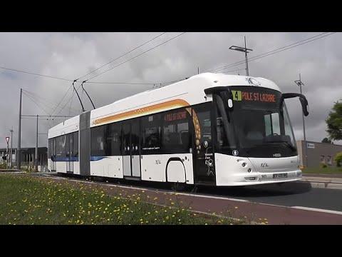 Trolleybus articulé de Limoges