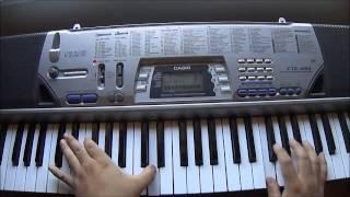 Repeat youtube video Maa Vue - Nyob Ua Kev (Keyboard/Piano Cover)