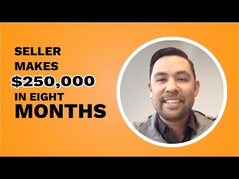 AMAZON Seller Hits $250K 💸  in Sales in Just 8⃣  Months  I Seller Stories I Jungle Scout