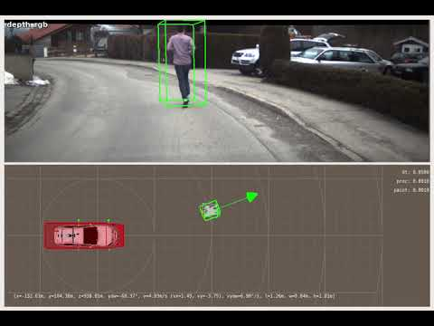 Single Object Tracking with Stereo-Vision