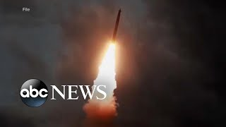 North Korea fires another round of test missiles l ABC News