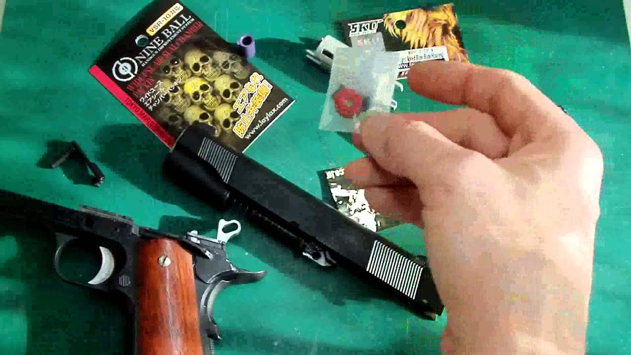 LaZouche Custom airsoft basic internal upgrade parts for TM 1911 &  Hicapa's  by LaZoucheCustomshop