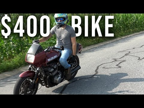 Buying A $400 Auction Bike, Fixed It In 10 Minutes