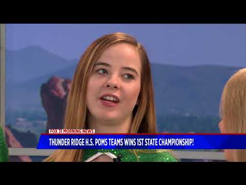Thunder Ridge High School Poms