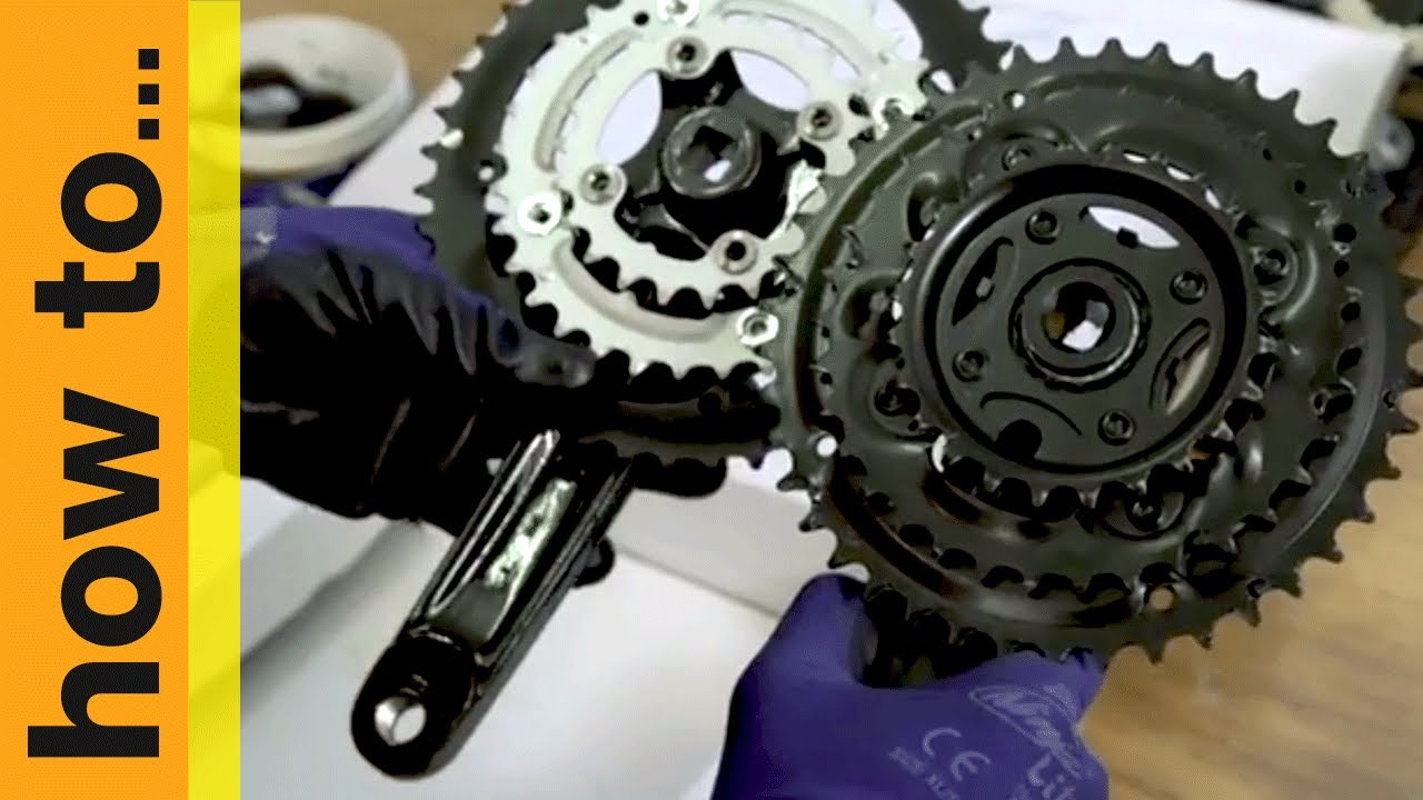 a0132087069 How To... Replace Your Crankset | Halfords UK - YouTube