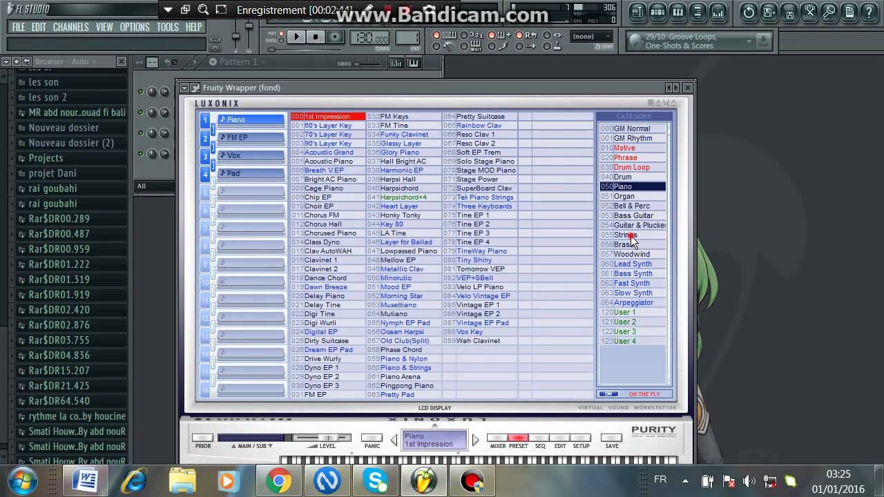RAI TÉLÉCHARGER 12 2012 CLAVIER PC STUDIO FL