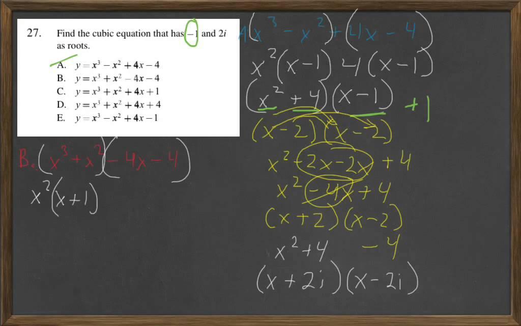 HiSET Math Free Practice Test 2 #27 - YouTube