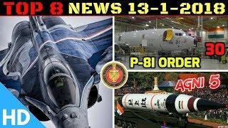 Indian Defence Updates : India France Rafale Deal,30 Boeing P-8I,Agni 5 Trials,Cargo UAV Prototype