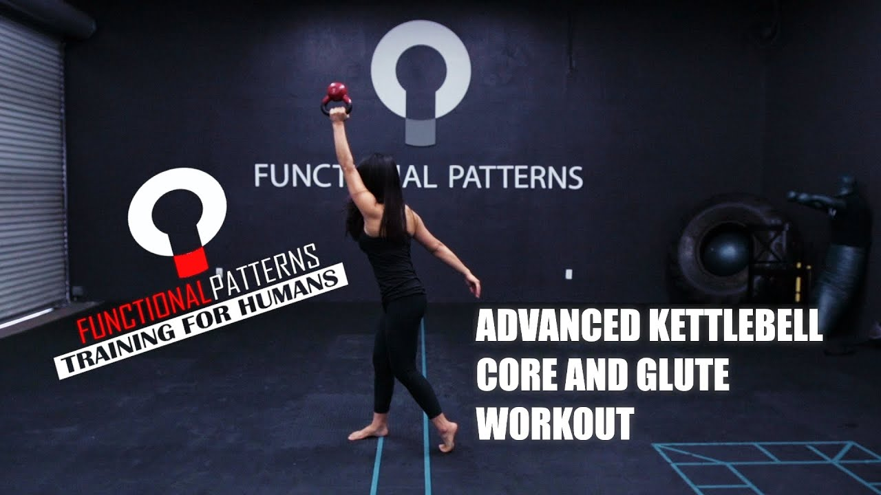 ADVANCED KETTLEBELL CORE AND GLUTE WORKOUT