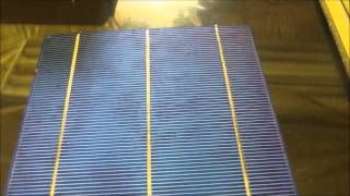 Solar diy watch before building panel some info