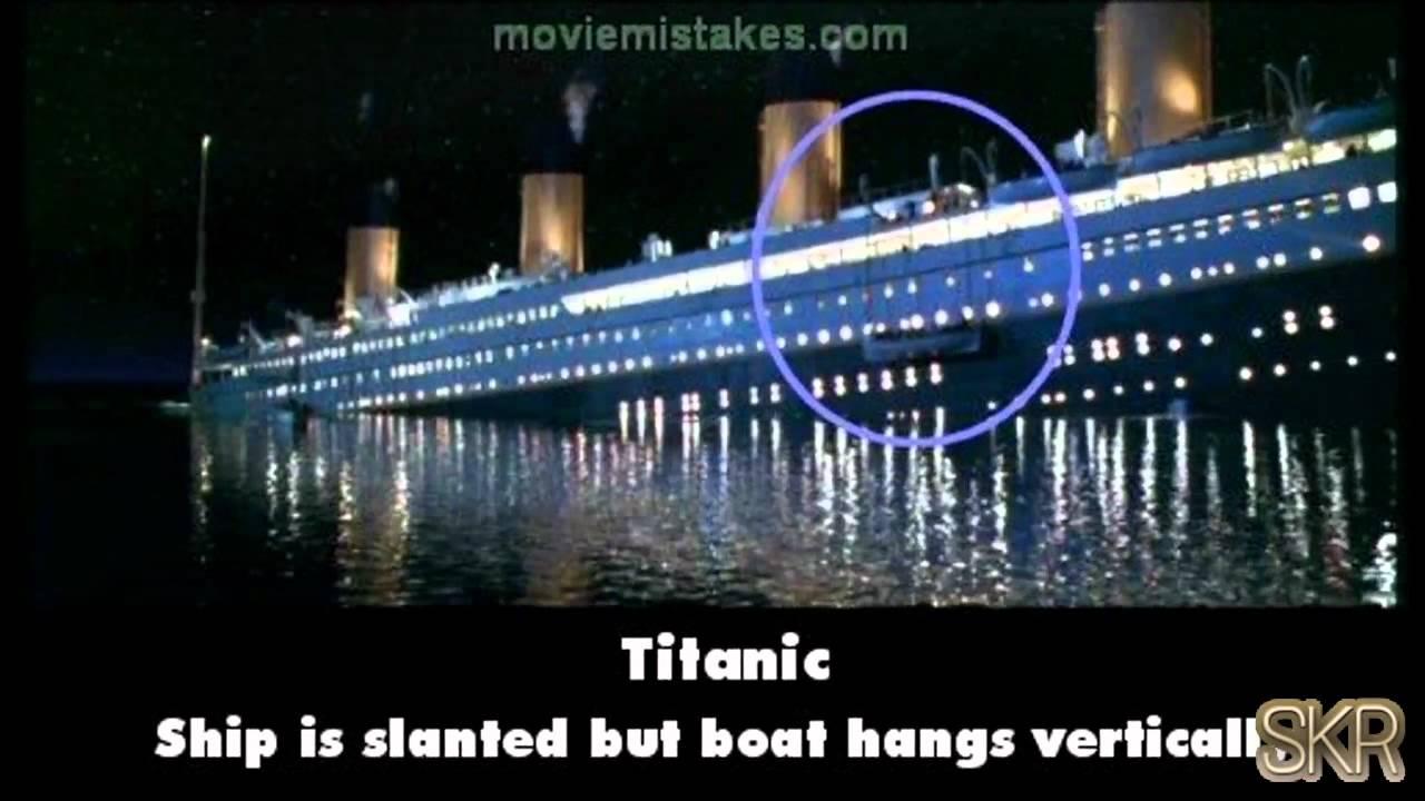 Movie Mistakes Titanic 1997 Youtube
