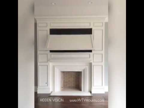 Hidden Tv Above Your Fireplace Youtube