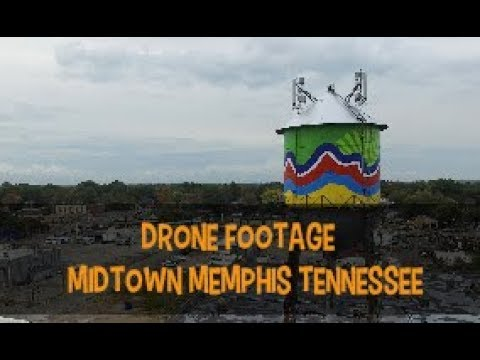 Drone Footage: Midtown Memphis Tennessee