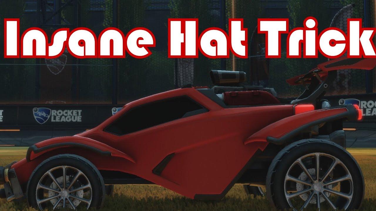 Rocket League Insane Hat Trick Youtube
